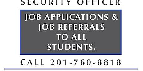 NJ SORA CLASS W/Job Asst. January 25-26  2020 (Saturday-Sunday 8 am) tickets