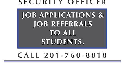NJ SORA CLASS W/Job Asst. January 25-26  2020 (Saturday-Sunday 8 am)