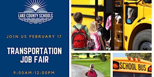 Lake County Schools Transportation Job Fair