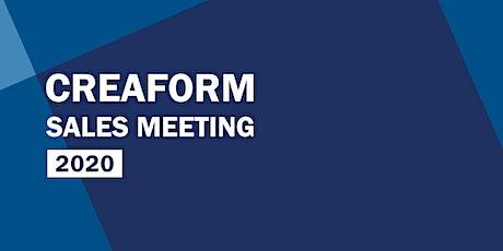 CREAFORM Sales Meeting 2020 tickets