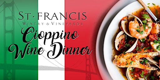Pop-up Cioppino Wine Dinner