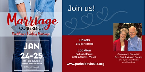 Marriage Conference - Building a Lasting Marriage
