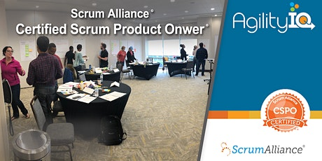 Certified Scrum Product Owner Training (CSPO) tickets