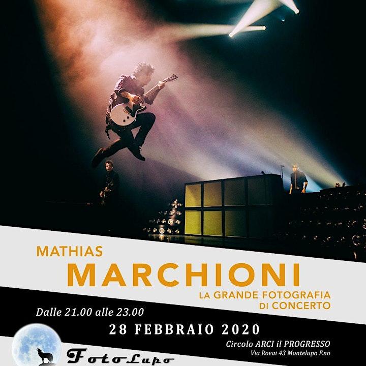 """Immagine """"La grande fotografia di concerto"""" con Mathias Marchioni"""