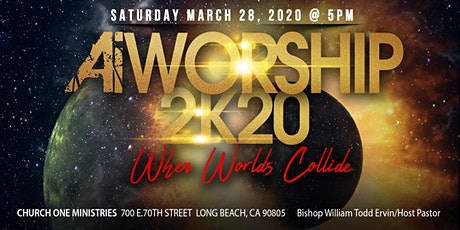 "A.W.E. 2K20 ""When Worlds Collide"" AiWorship and Glad II tickets"