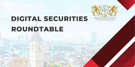 DIGITAL SECURITIES ECOSYSTEM SUMMIT ZURICH ROUNDTABLE tickets