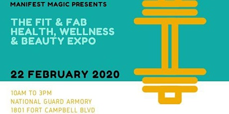 The FIT & FAB Health, Wellness and Beauty EXPO tickets