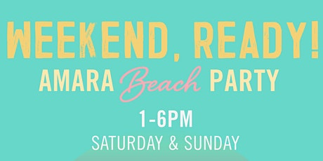 Amara Beach Party tickets