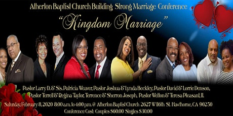Building Strong Marriage Conference tickets