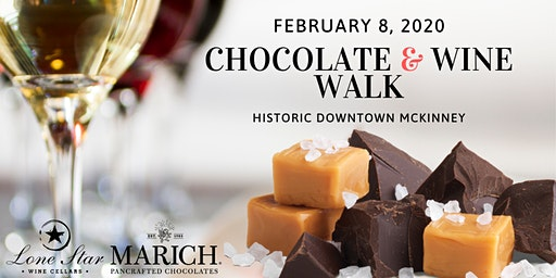 Valentines Chocolate and Wine Walk - Downtown McKinney
