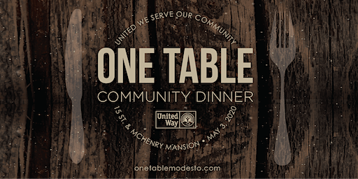 One Table Community Dinner 2020