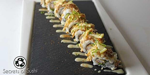 Sushi Class - How to Make the Heaven Roll