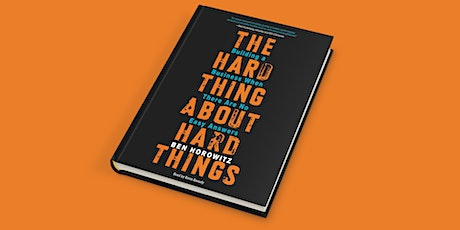 EBBC Ghent - The Hard Thing About Hard Things (B. Horowitz) tickets