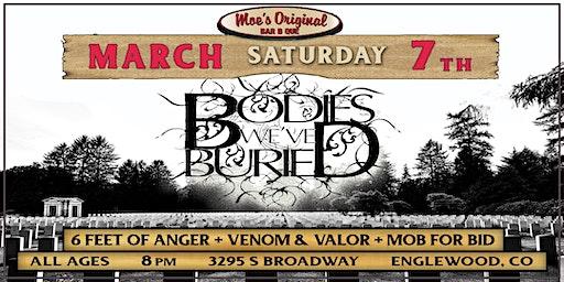 Bodies We've Buried w/ Venom & Valor + Slingfist + Mob For Bid