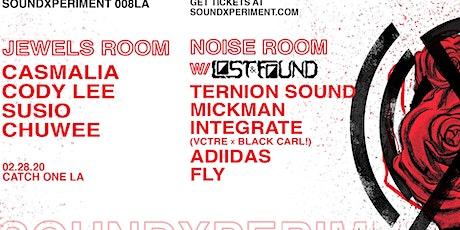 soundXperiment 008LA x Lost & Found | Ternion Sound tickets