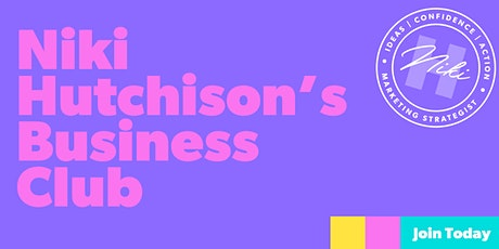 Niki Hutchison's November Business Club tickets