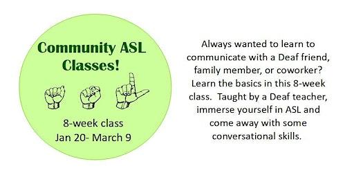 Community ASL Classes