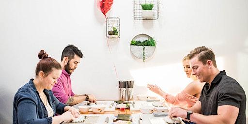 Valentine's Day Sushi Making Class #2