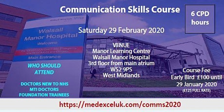 Communication Skills Course tickets