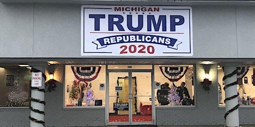 Michigan Trump Republicans 2020  GRAND OPENING EVENT