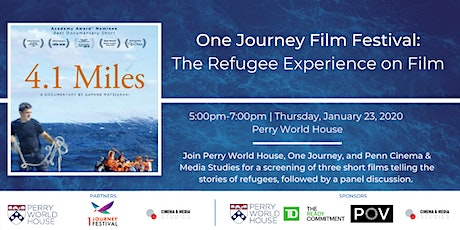 One Journey Film Festival: The Refugee Experience on Film tickets