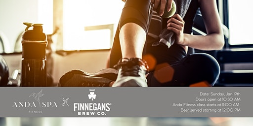 Anda Fitness at FINNEGANS Brew Co.
