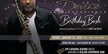 Devine Jazz Experience January 2020 | Merlon's Birthday Bash tickets