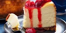 Happy New Year New York Style Cheesecake