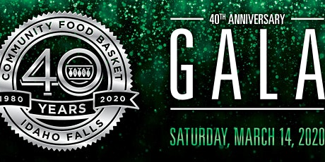 40th Anniversary Gala for Community Food Basket tickets