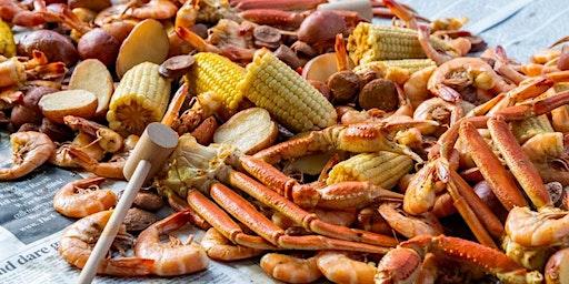 Wine Country Crab Boil at Medlock Ames
