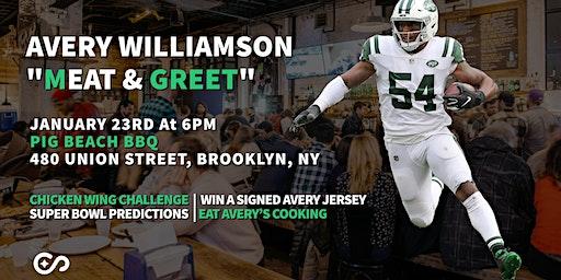 NY Jets Linebacker Avery Williamson | Meat & Greet (POSTPONED TO FEB)