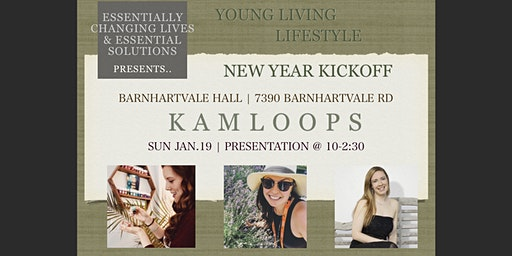 Young Living New Year Kick Off