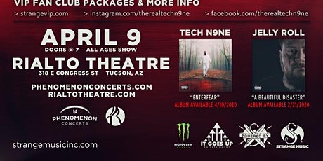 Tech N9ne Enterfear Tour 2020 tickets