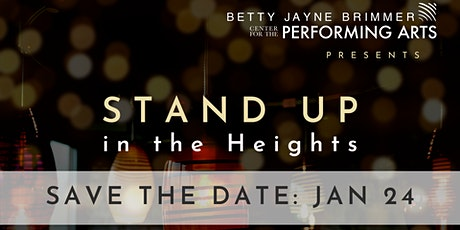 STAND UP in the Heights tickets