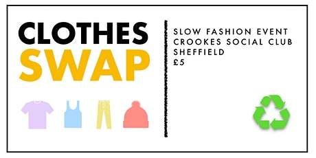 CLOTHES SWAP | SHEFFIELD tickets