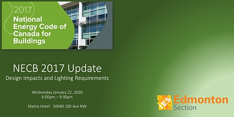 NECB 2017 Update: Design Impacts and Lighting Requirements tickets