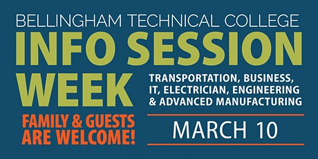 BTC Info Session Week: Auto, Business, IT, Manufacturing, Culinary & More tickets