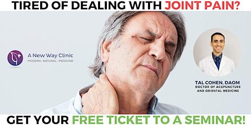 Arthritis Pain Seminar w/ Tal Cohen DAOM McMinnville OR