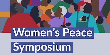Women's Peace Symposium tickets