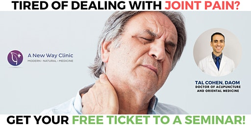 Arthritis Pain Seminar w/ Dr. Tal Cohen Eugene OR