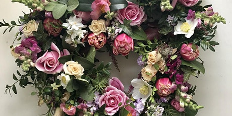 Heart Shaped Floral Wreath tickets