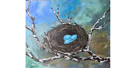 Robin's Nest - Paint and Sip Night - Snacks Included tickets