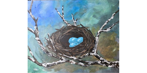 Robin's Nest - Paint and Sip Night - Snacks Included