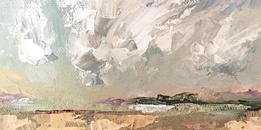 Palette Knife Landscape Painting with Karen Haub