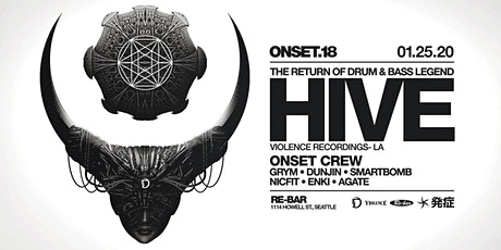 Onset 18 Year feat. Hive (LA) tickets