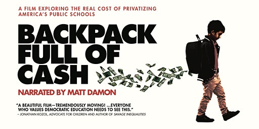 """Backpack Full of Cash"" Screening & Discussion"