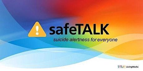 safeTALK Suicide Prevention Training tickets