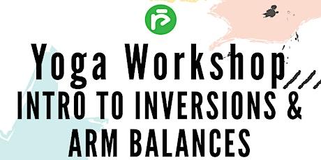 Intro to Inversions & Arm Balances tickets