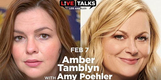 Amber Tamblyn in conversation with Amy Poehler
