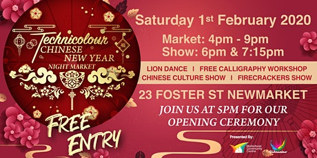 Technicolour Chinese New Year Night Market tickets